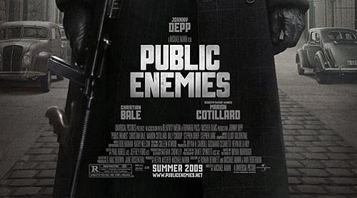 Michael Mann commissioned new font for Public Enemies - Michael ...