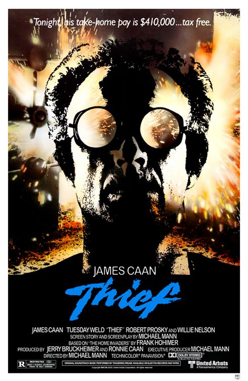 Michael Mann Thief Poster